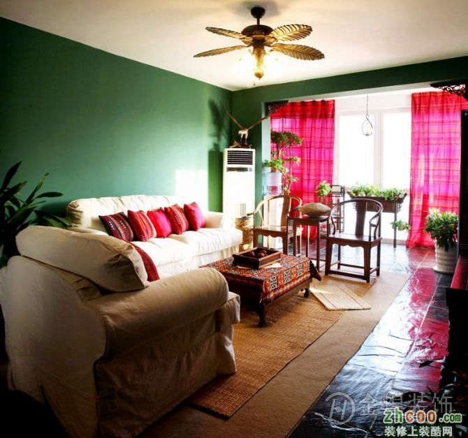 三室两厅东南亚印度风格案例