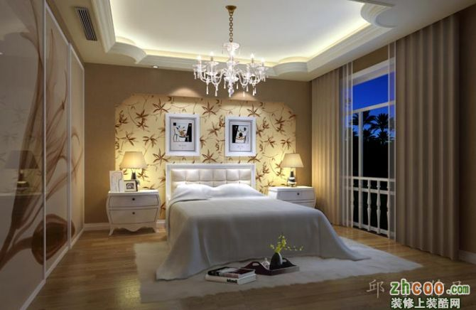 沙发背景墙,酒柜为中心,成都别墅设计别墅装修公司,别致精美的垭口为