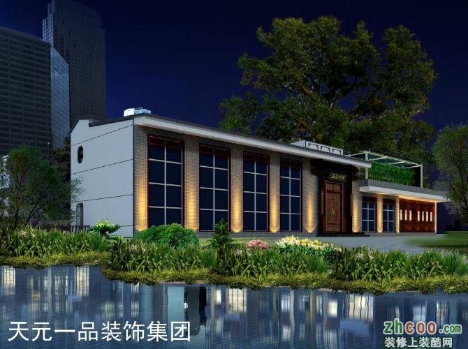 平顶山文化宫茶楼设计
