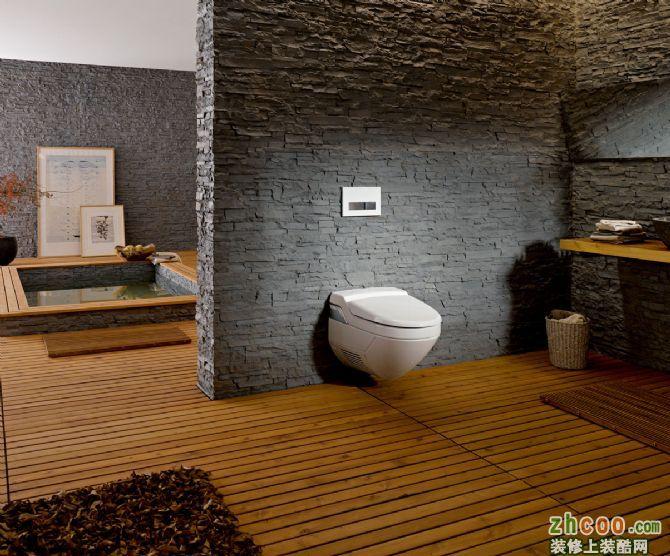 卫浴马桶移位|智能马桶|吉博力隐蔽式水箱