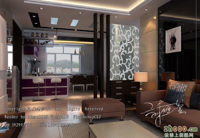 木玻璃结构餐厅