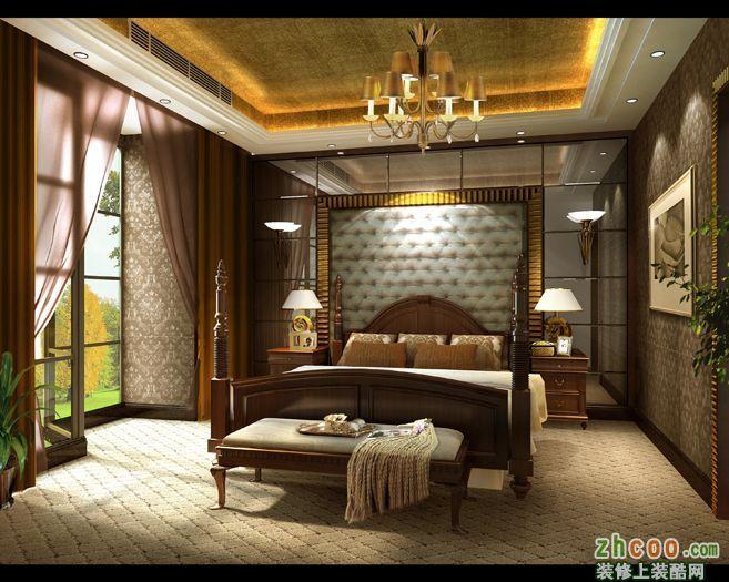 卧室成都业之峰装饰,装修案例,别墅装修,施工工艺