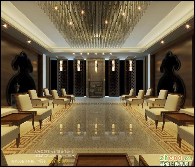 (大象裝飾)黃山南大門800平方茶樓