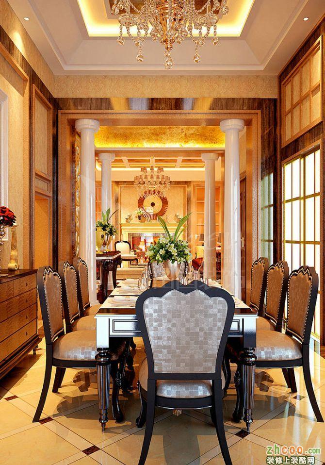 空间类型:欧式风格 别墅花园 房屋面积:800 工程造价:43万 本案中,设计师将欧洲古典的繁复元素进行了简化,同时,整套居室的整体色调以素雅米色为主,配以实木和香槟银美式家具,演绎了一个华丽中蕴涵优雅与贵气的奢华空间,并运用时尚而不张扬的美式风格来烘托整个空间,融合美式时尚与古典的元素,华贵、端庄而时尚。