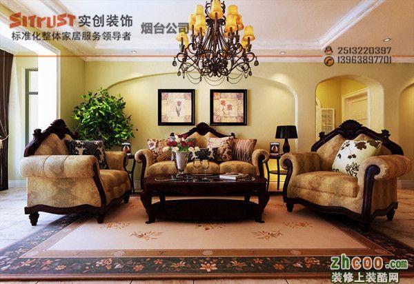 (烟台实创装饰)-(鼎城2008)6万5打造92.73平米浪漫地中海两居