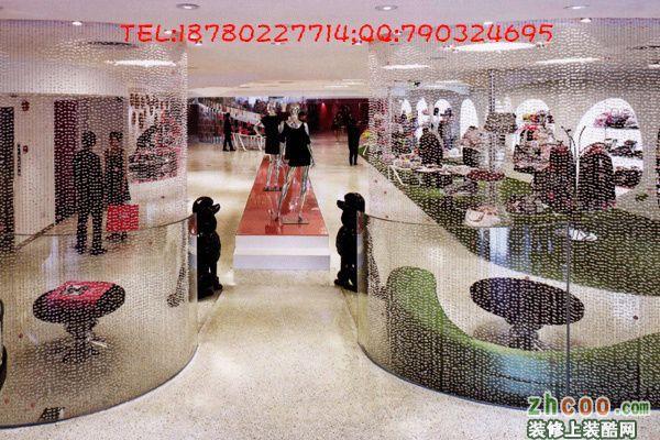 成都专业服装店装修设计-香港古兰装饰