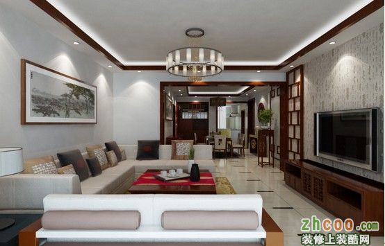 昆明市盘龙区天润金碧150平米现代中式中户型10万元