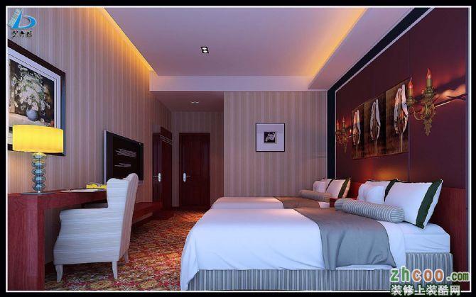 帮木工老李做的北川宾馆效果图效果图
