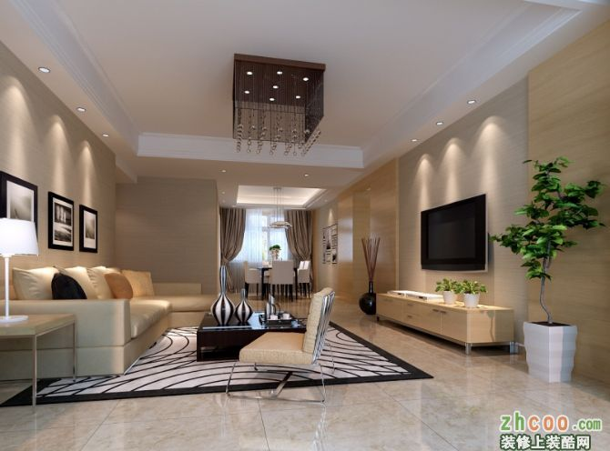 翠湖嘉園-四室兩廳-現代簡約風格