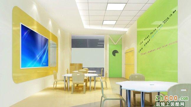 迈格森少儿英语培训室内装修设计