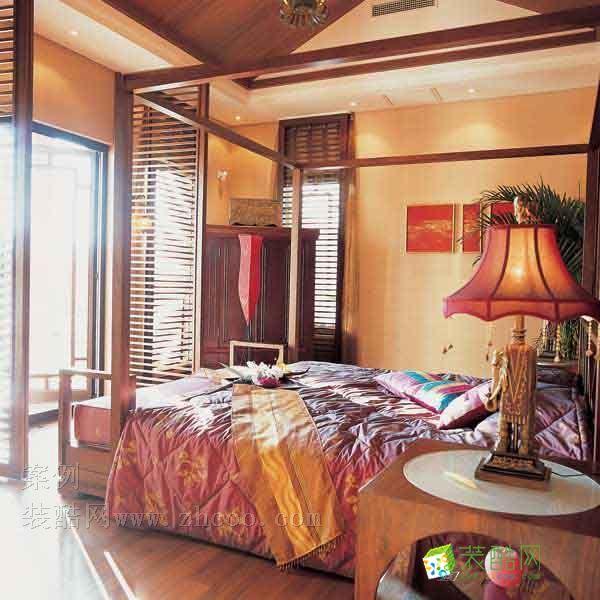 卧室 泰式风格图片