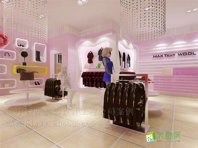 首页 装修案例 女装店 中式风格 服装店