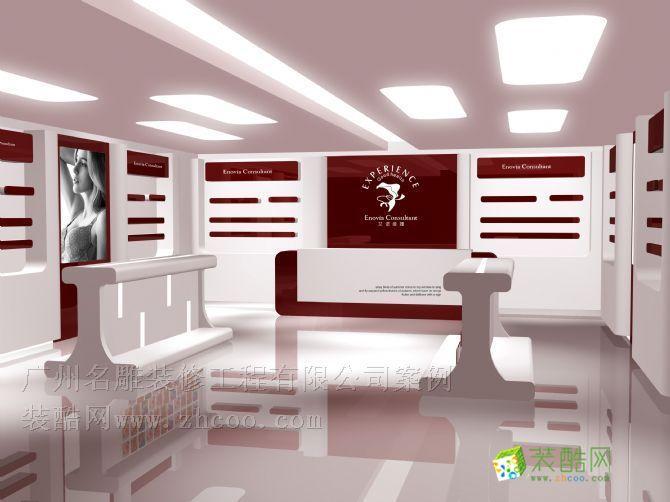 越秀区 中华广场店面设计 中式风格 服装店