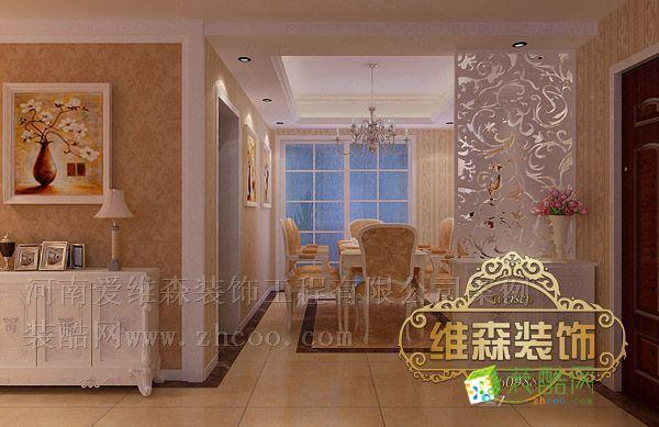 方圆创世装修效果图 欧式风格 四室两厅两卫