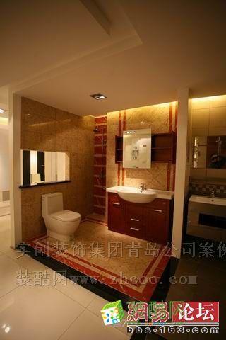 【实创装饰】卫生间、浴室柜、地砖、地板等样板间展厅