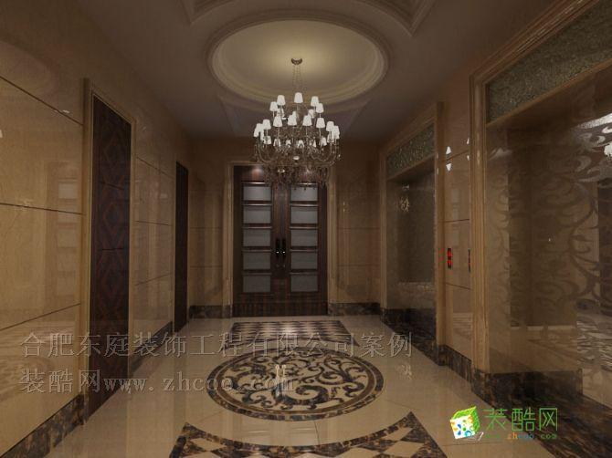 明光路汽车站办公楼电梯间