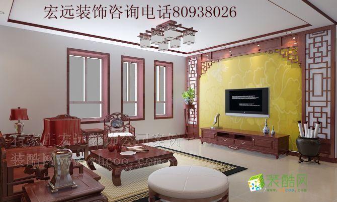 中山华府,水电施工现代中式