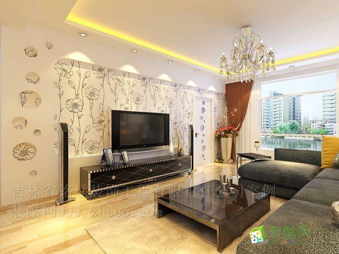 多恩虹郡兩室一廳現代風格設計方案