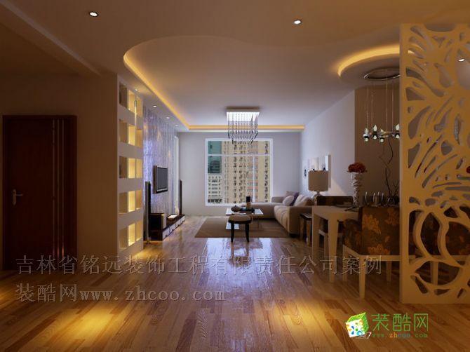 怡景陽光三室兩廳錯層110平米裝修設計方案