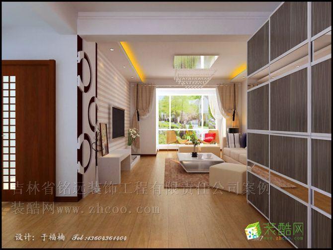 保利罗兰香谷90平米设计方案