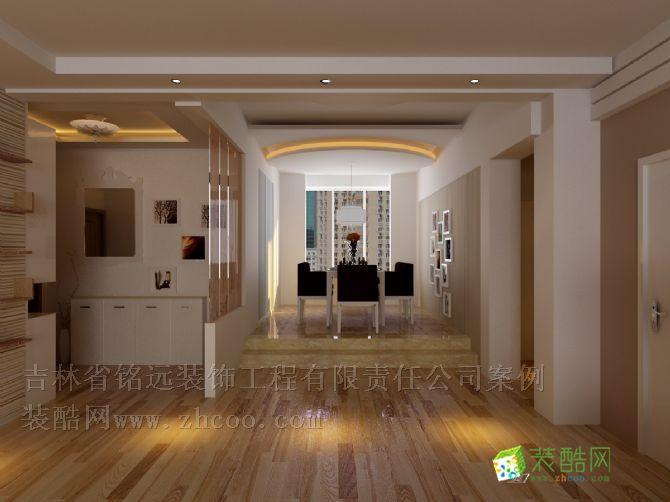 两厅错层简欧风格整体装修设计方案图片