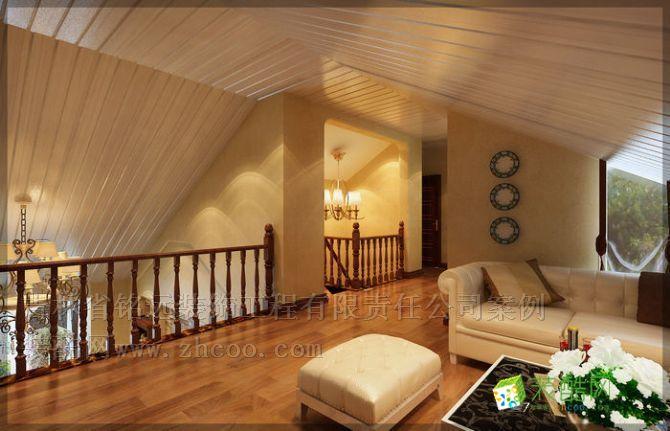 松原小别墅整体装修设计方案 欧式风格 别墅花园