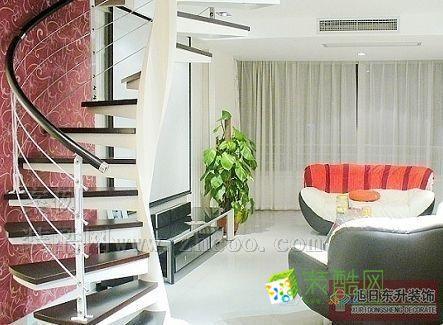 60平米复式小户型家庭装修案例