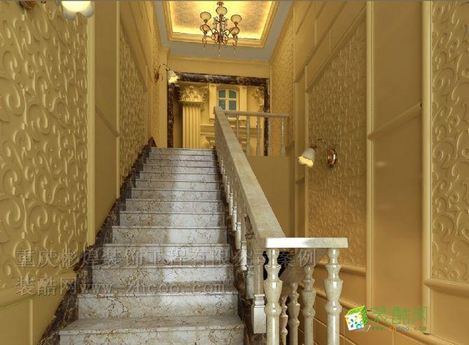 农村四层楼楼梯间双控照明的电路图