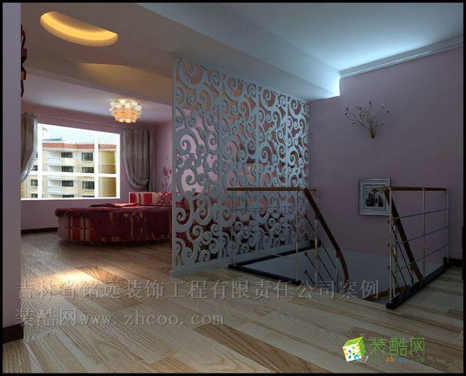美景天辰85平带阁楼时尚现代风格装修设计方案