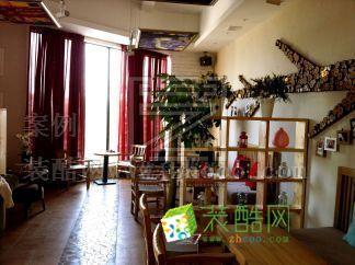 青島日式咖啡店裝修設計