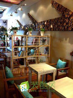 青岛韩式咖啡厅装修设计