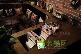 青岛美式咖啡厅装修设计