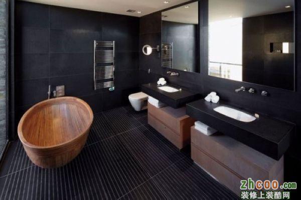黑色时尚卫浴