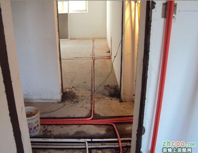 家装电工 中式风格 三室一厅一卫