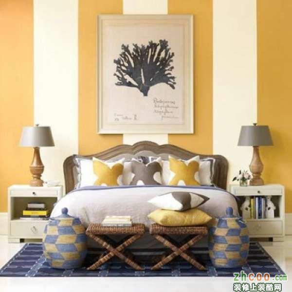 卧室床头背景设计