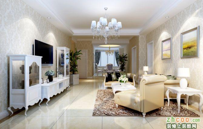 紫金城-三房两厅-英伦风格