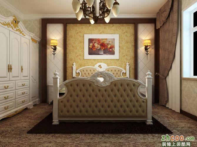 其他欧式风格_西格玛装饰-床头背景展示效果图