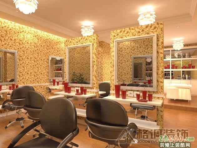美容美发店-欧式风格