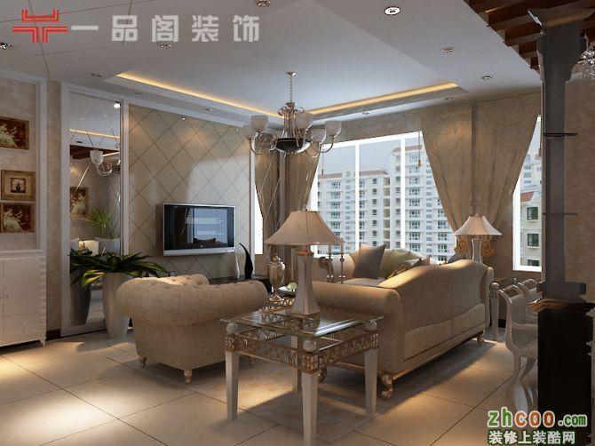 两室两厅一卫欧式装修效果图_两室两厅一卫欧式装修