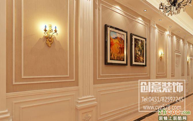 欧式饭店装修效果图图片