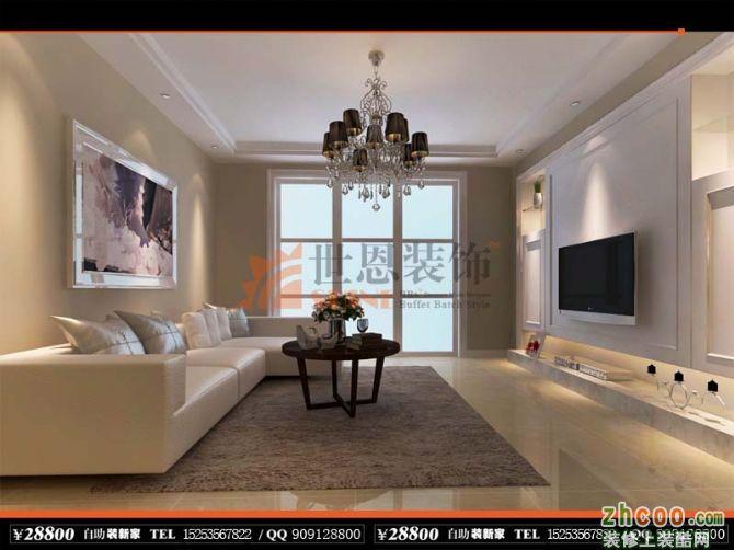 150四室两厅两卫欧式装修效果图