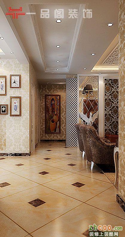 三室两厅一卫欧式装修效果图_三室两厅一卫欧式装修_3