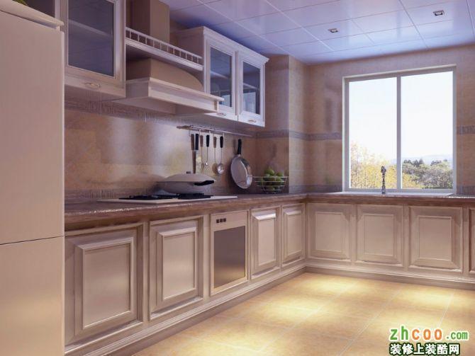 厨房 德外新风南里简约欧式风格装修效果图