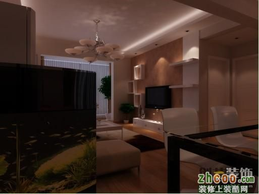 官渡区润城一期80平方米简约现代风格小户型4万元