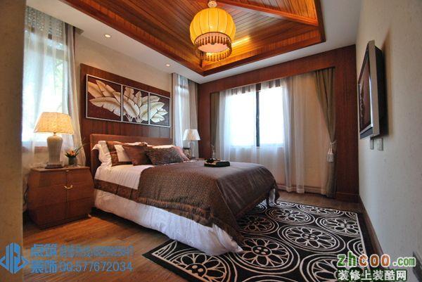 点筑-万业巴厘岛联排别墅 东南亚风格 别墅花园