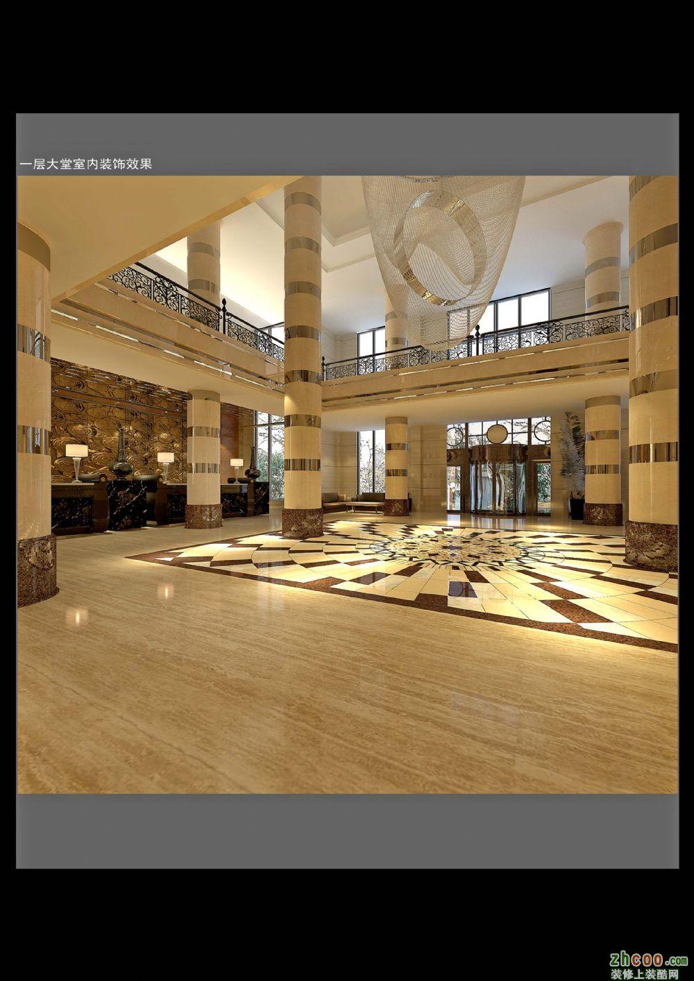 江油西屏华昇宾馆装修设计图—第六感空间设计工作室
