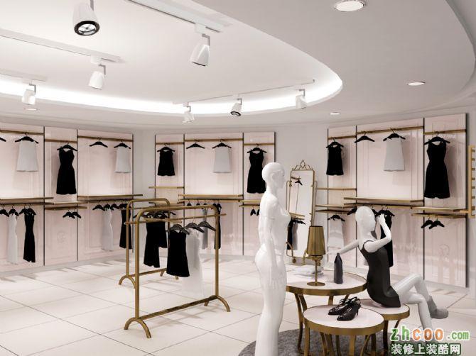 首页 装修案例 amnt广州展厅 中式风格 服装店
