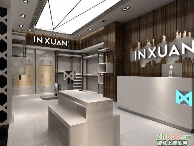 南宁服装店装修设计 简约风格 售楼中心