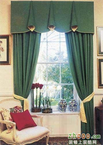 【名风装饰】欧式窗帘设计