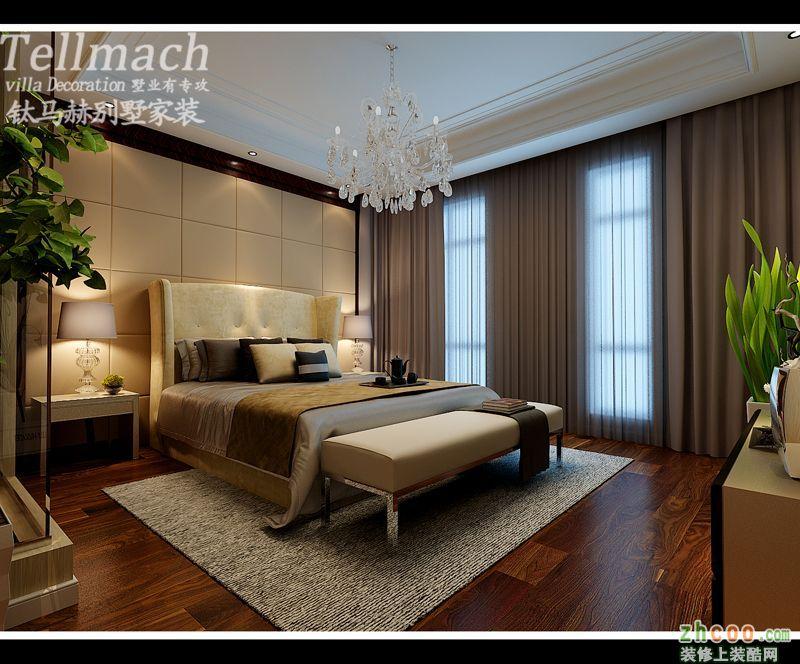 卧室 济南三箭瑞福苑错层250平户型设计方案展示